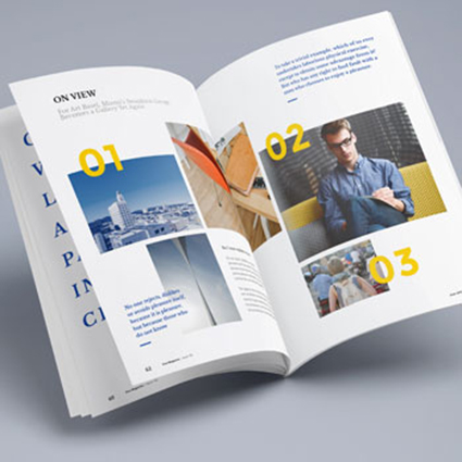 brochure printing and design - printcore design print web holloway road archway